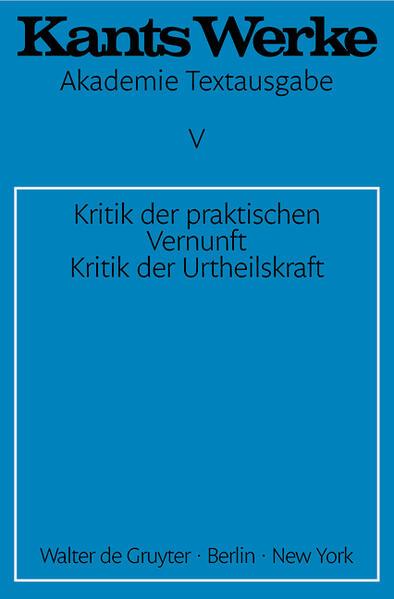 Kritik der praktischen Vernunft. Kritik der Urteilskraft als Buch (kartoniert)