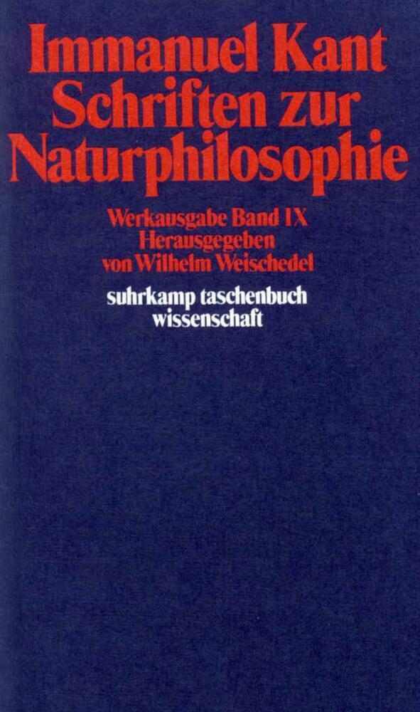 Schriften zur Naturphilosophie als Taschenbuch