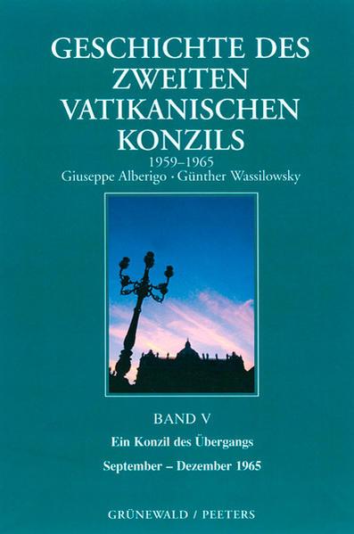 Geschichte des Zweiten Vatikanischen Konzils (1959-1965) als Buch