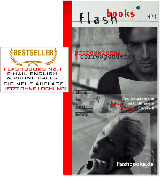 Flashbooks 1. Professional Correspondence als Buch