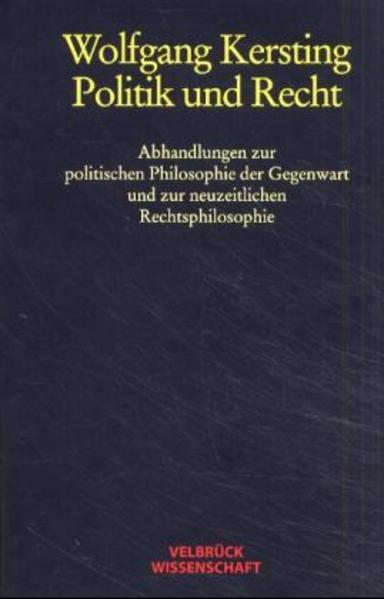 Politik und Recht als Buch