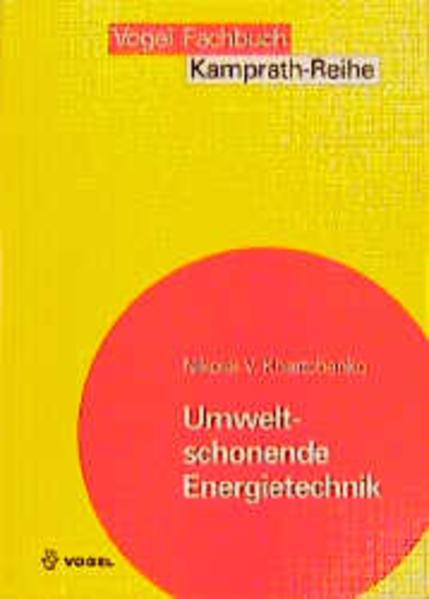 Umweltschonende Energietechnik als Buch