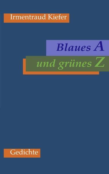 Blaues A und grünes Z als Buch