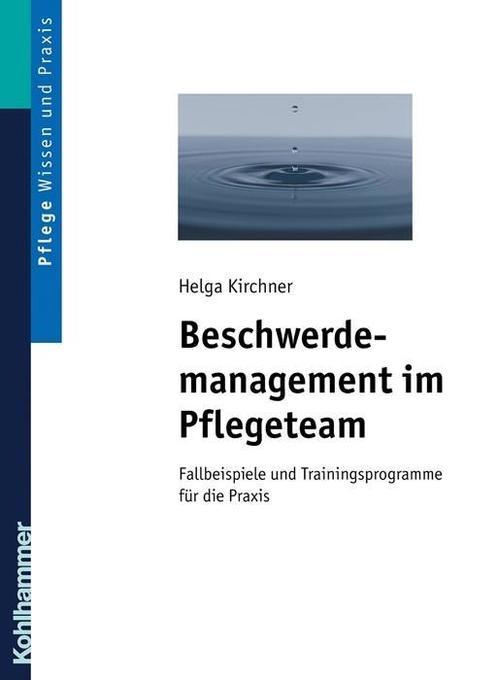 Beschwerdemanagement im Pflegeteam als Buch