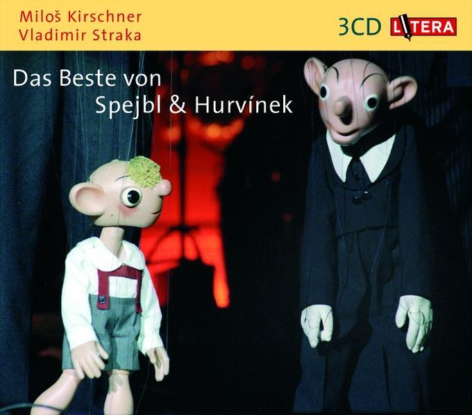 Das Beste von Spejbl und Hurvinek. 3 CDs als Hörbuch