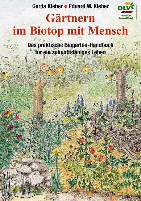 Gärtnern im Biotop mit Mensch als Buch