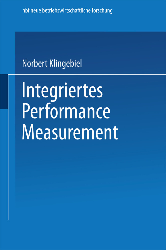Integriertes Performance Measurement als Buch