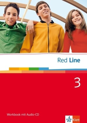 Red Line 3. Workbook mit Audio-CD als Buch