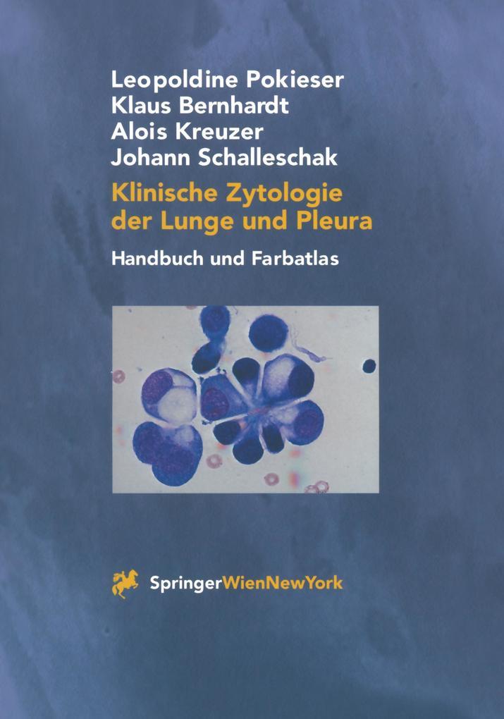 Klinische Zytologie der Lunge und Pleura als Buch