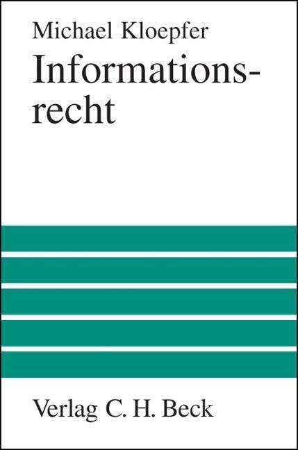 Informationsrecht als Buch