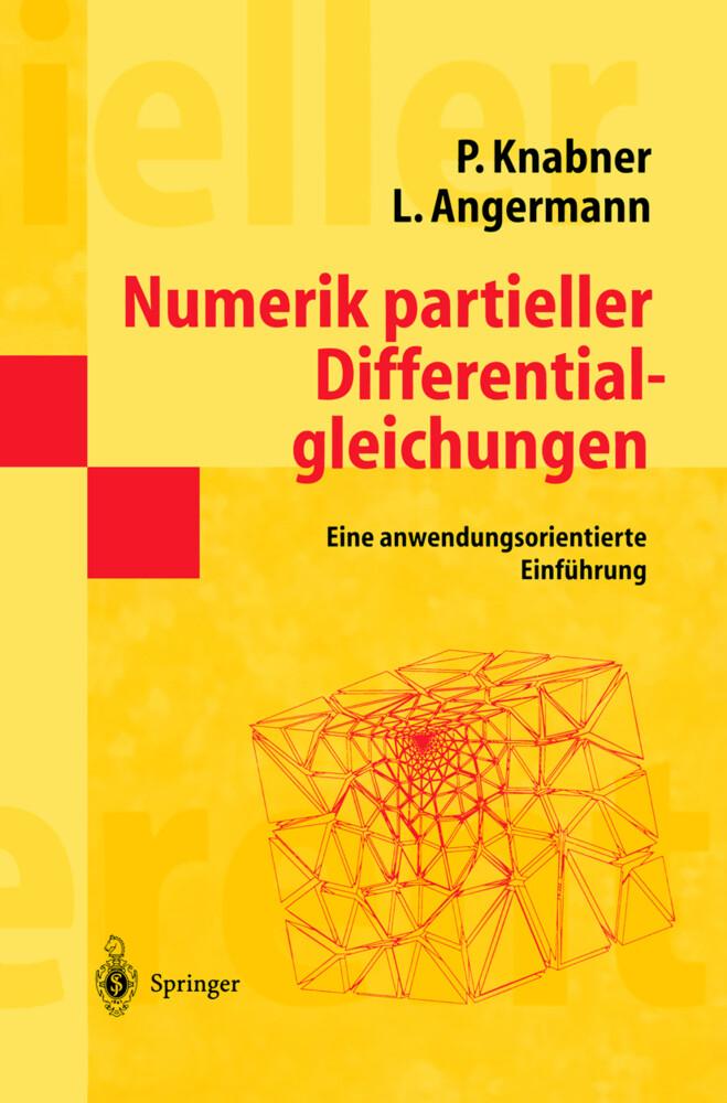 Numerik partieller Differentialgleichungen als Buch