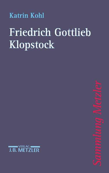 Friedrich Gottlieb Klopstock als Taschenbuch