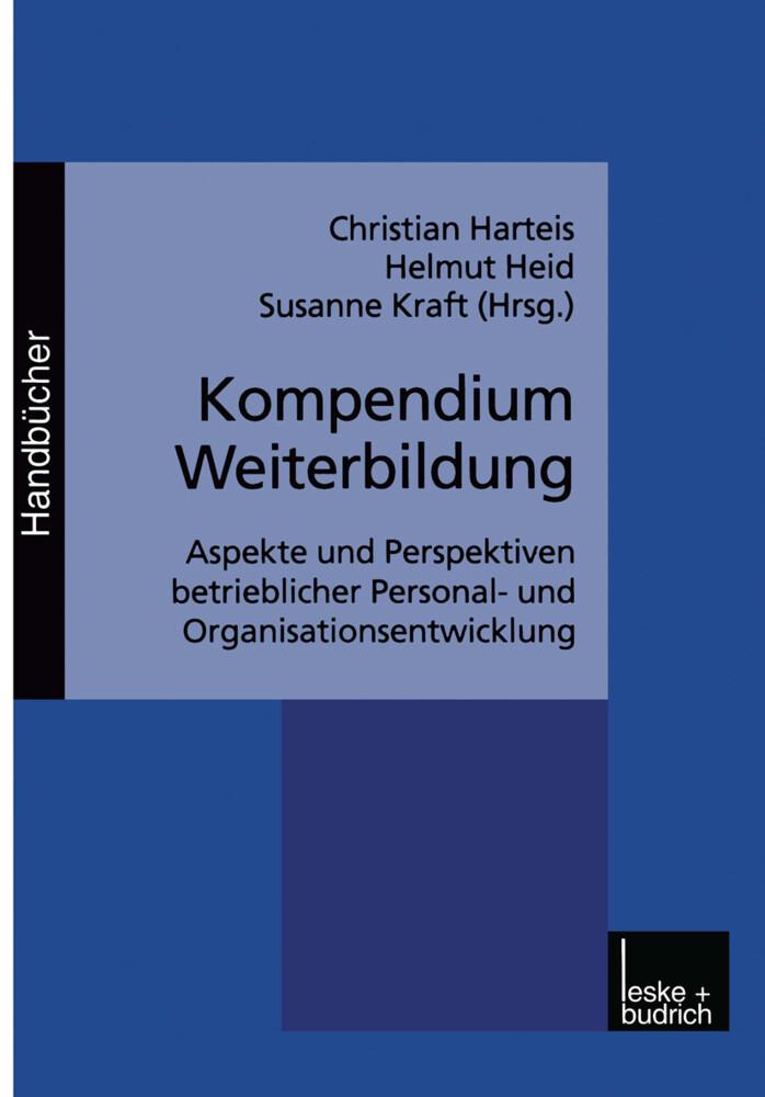 Kompendium Weiterbildung als Buch