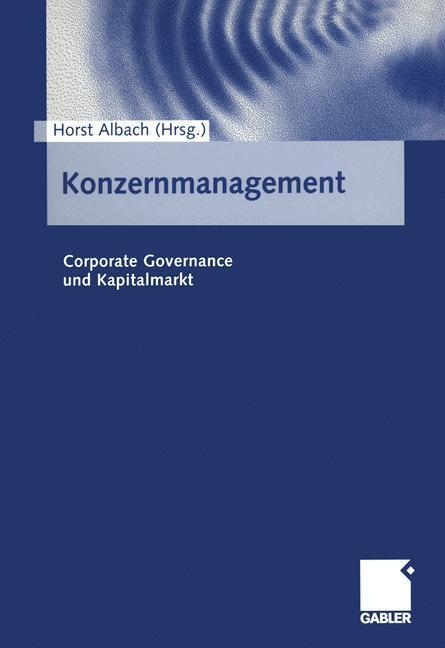 Konzernmanagement als Buch