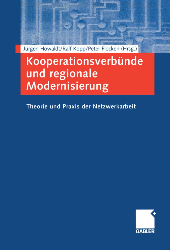 Kooperationsverbünde und regionale Modernisierung als Buch