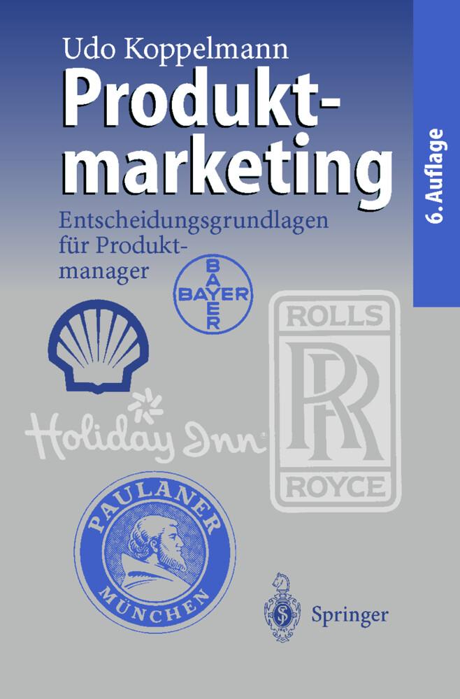 Produktmarketing als Buch