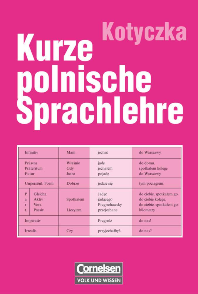 Kurze polnische Sprachlehre als Buch