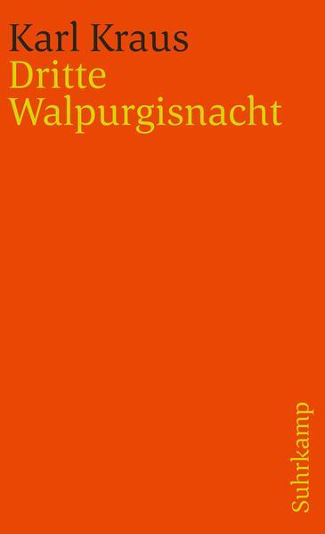 Dritte Walpurgisnacht als Taschenbuch