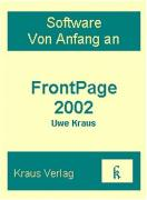 FrontPage 2002 als Buch
