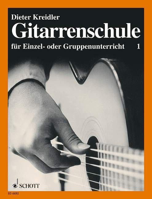 Gitarrenschule für Einzel- oder Gruppenunterricht 1 als Buch