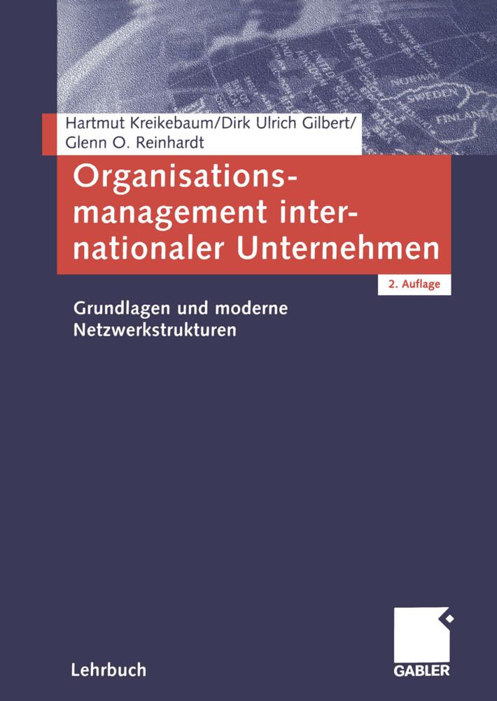 Organisationsmanagement internationaler Unternehmen als Buch