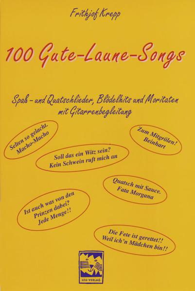 Hundert Gute - Laune - Songs als Buch