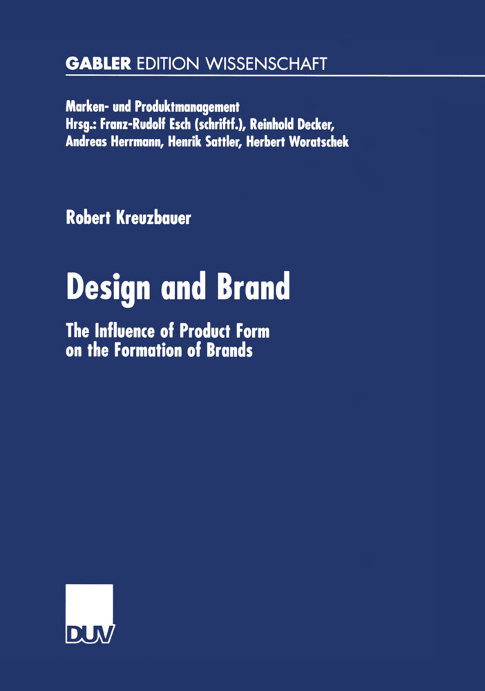 Design and Brand als Buch