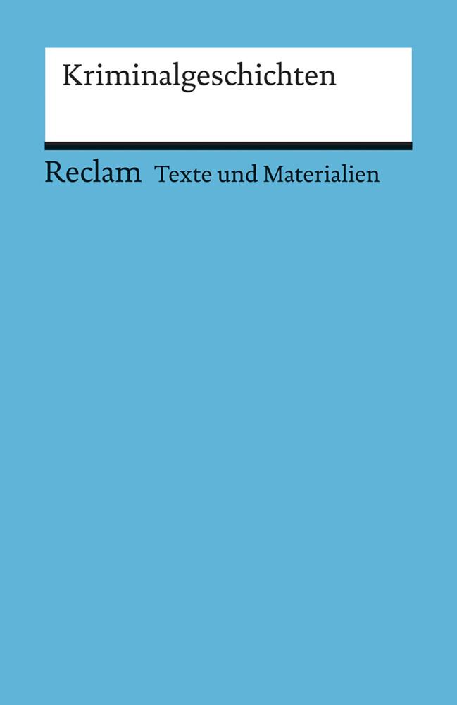 Kriminalgeschichten als Taschenbuch von Eckhard Finckh