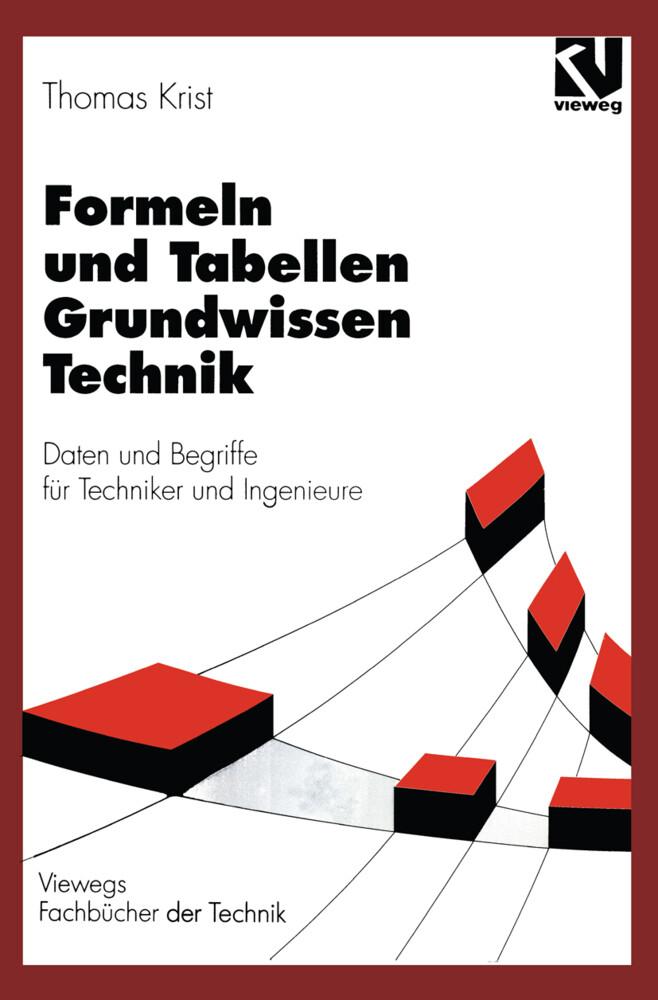 Formeln und Tabellen Grundwissen Technik als Buch