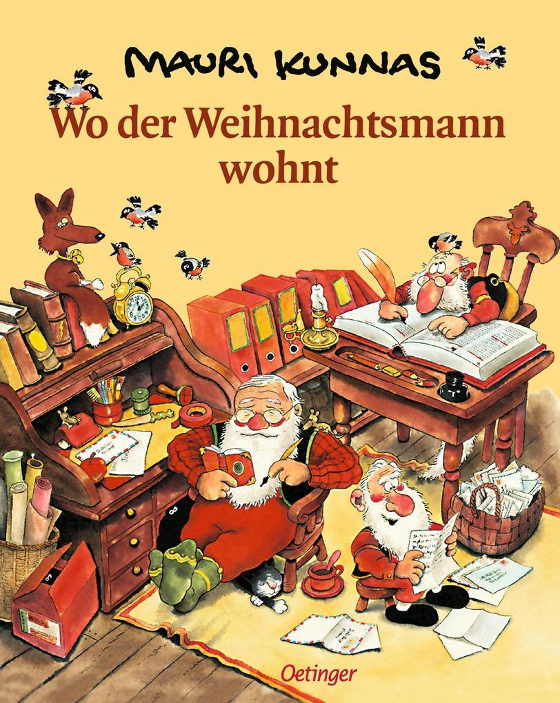 Wo der Weihnachtsmann wohnt als Buch