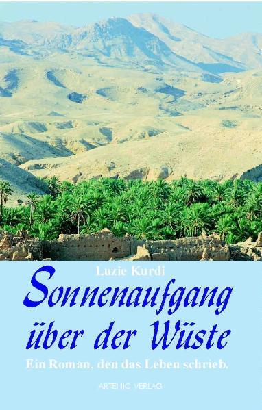 Sonnenaufgang über der Wüste als Buch