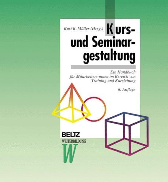 Kurs- und Seminargestaltung als Buch