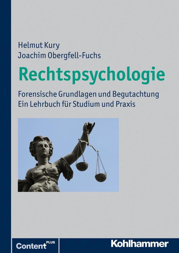 Rechtspsychologie als Taschenbuch