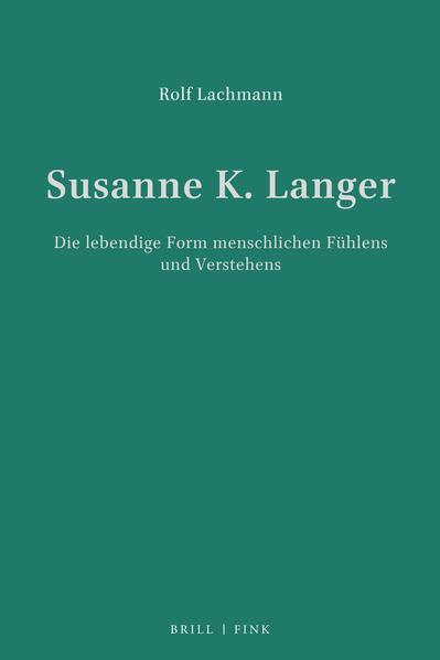 Susanne K. Langer als Buch