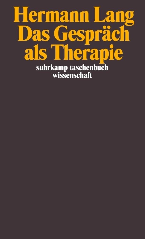 Das Gespräch als Therapie als Taschenbuch