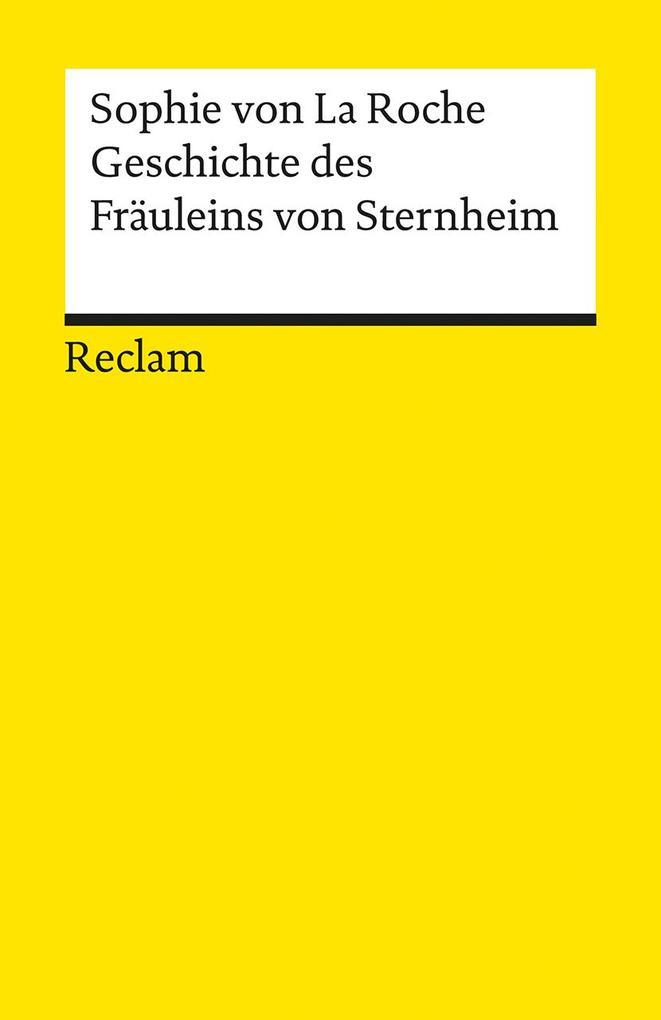 Geschichte des Fräuleins von Sternheim als Taschenbuch