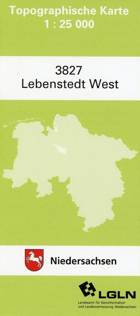 Lebenstedt West 1 : 25 000. (TK 3827/N) als Buch