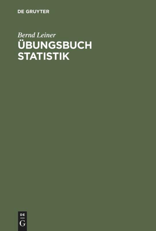 Übungsbuch Statistik als Buch