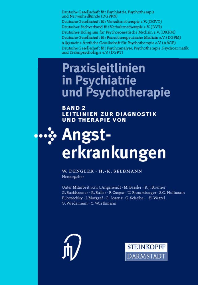 Leitlinien zur Diagnostik und Therapie von Angsterkrankungen als Buch