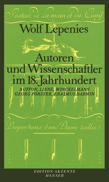Autoren und Wissenschaftler im 18. Jahrhundert als Buch