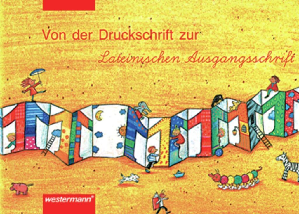 Leporello 1. Schreiblehrgang. Lateinische Ausgangsschrift. Rheinland-Palz / Saarland als Buch