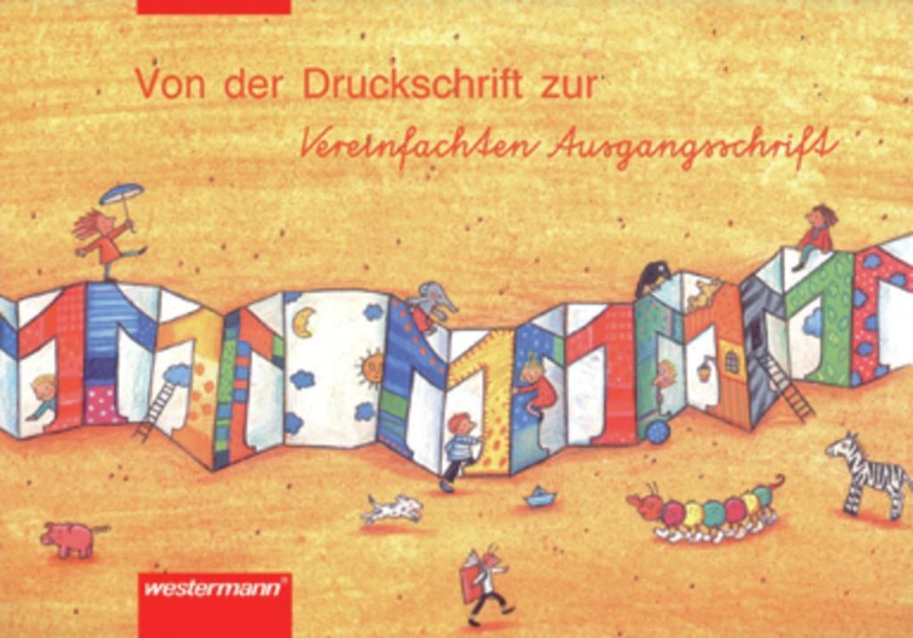Leporello 1. Schreiblehrgang. Von der Druckschrift zur Vereinfachten Ausgangsschrift. Rheinland-Pfalz / Saarland als Buch