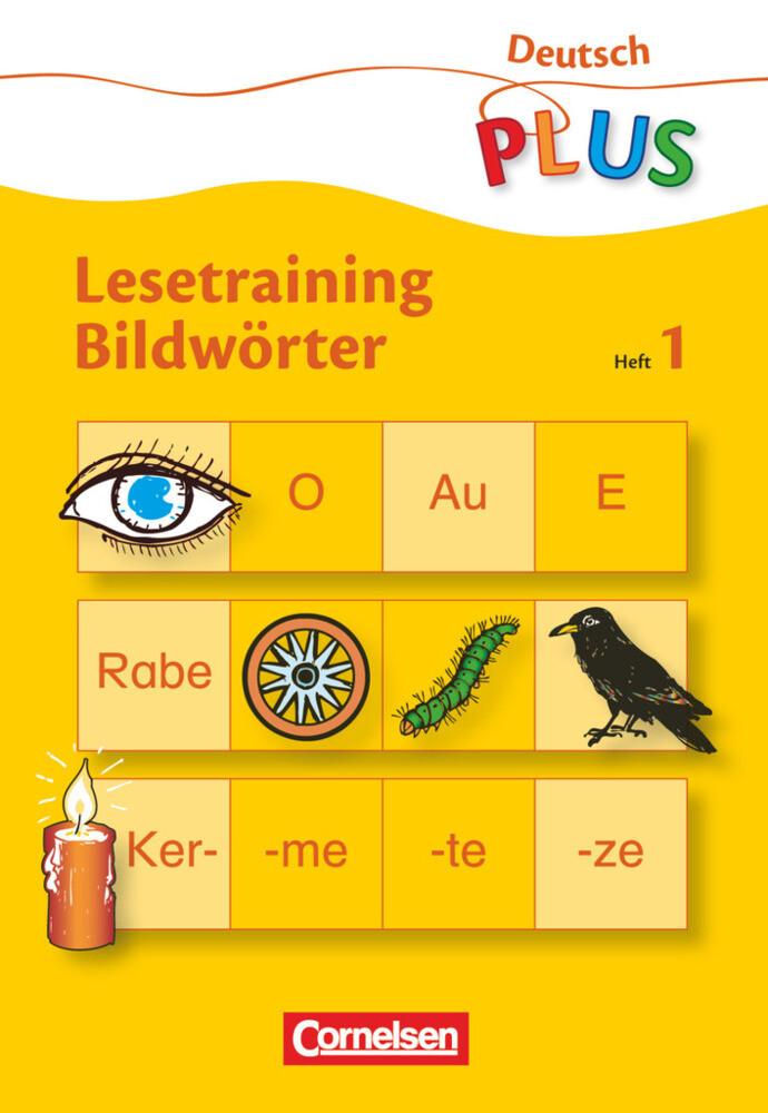 Lesetraining Bildwörter Heft 1 als Buch