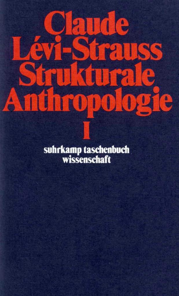 Strukturale Anthropologie I als Taschenbuch
