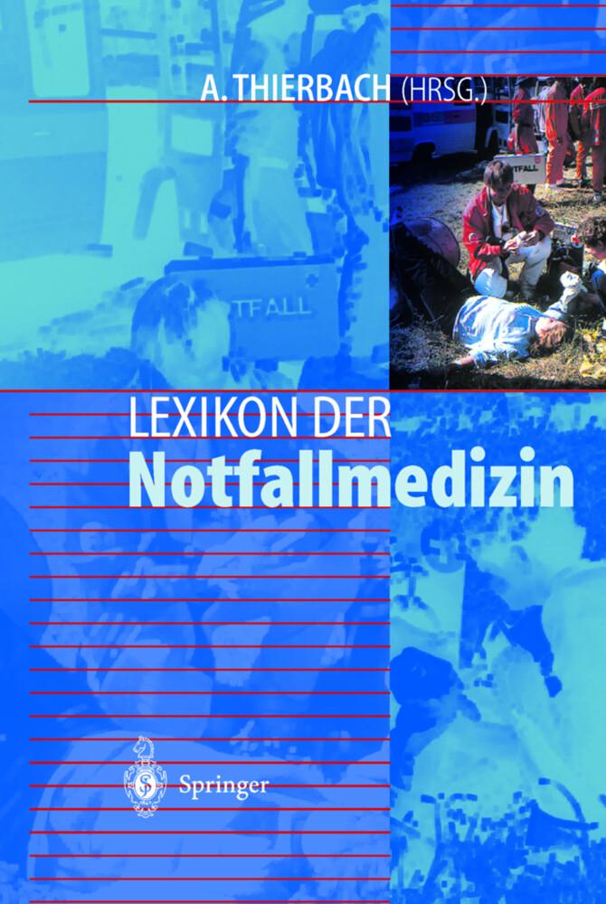 Lexikon der Notfallmedizin als Buch