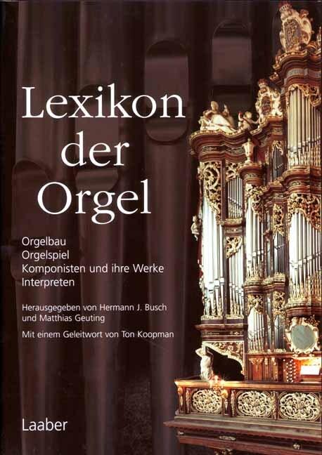 Lexikon der Orgel als Buch