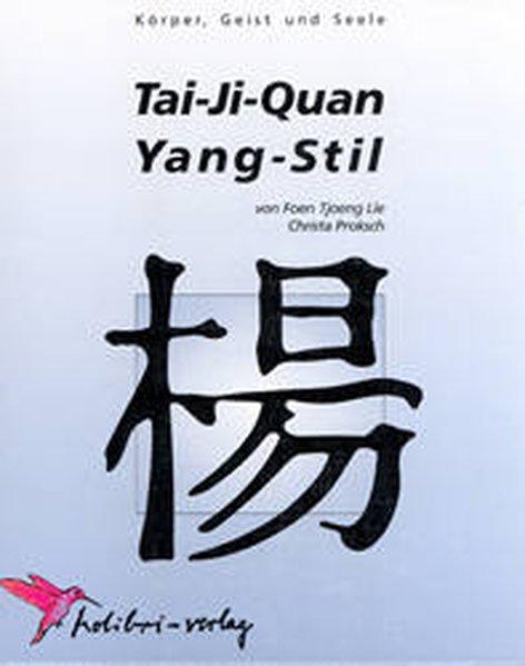 Tai-Ji-Quan Yang-Stil als Buch