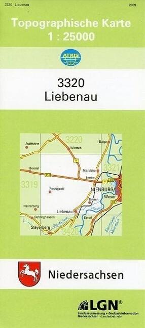 Liebenau 1 : 25 000 als Buch