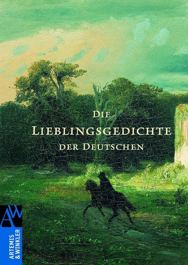 Die Lieblingsgedichte der Deutschen als Buch