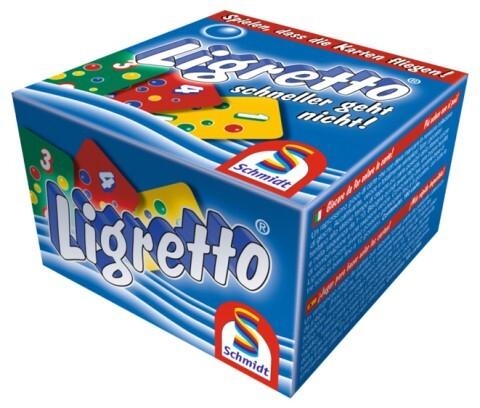 Schmidt Spiele - Ligretto blau als Spielwaren